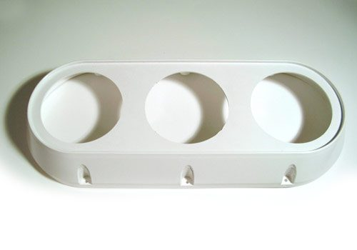 Three Light Bezel – Alliance Injection Molding